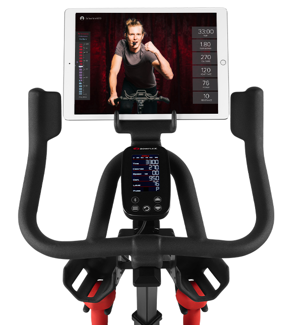 Bowflex C6 Bike Console With Tablet Holder and Premium Grips
