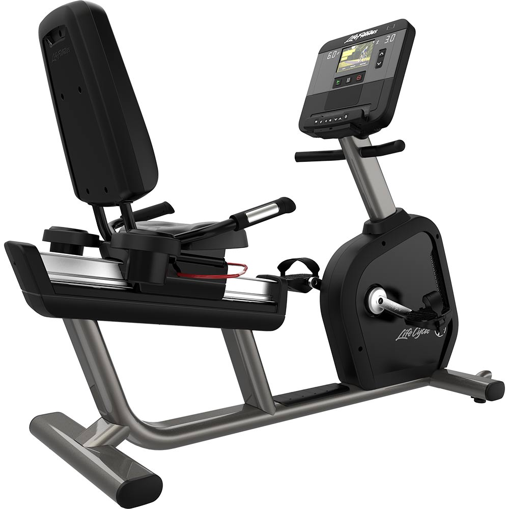 Recumbent Exercise Bikes - Life Fitness Club Series + 2018 Model