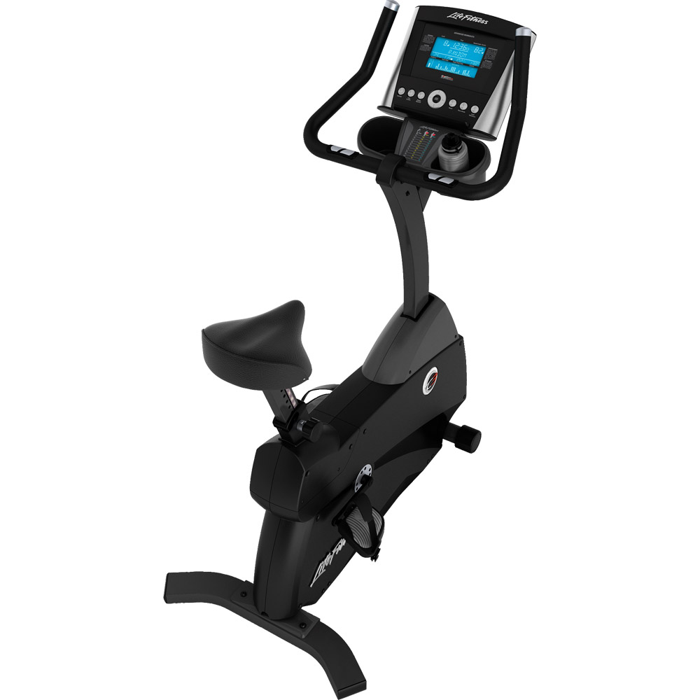 Life Fitness C3 Upright LifeCycle With Go Console