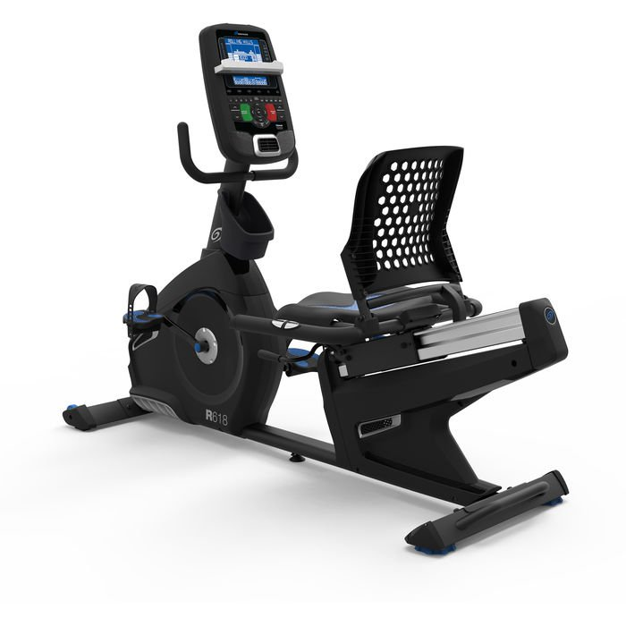 Nautilus R618 Recumbent With Wireless Heart Rate Monitoring Capability