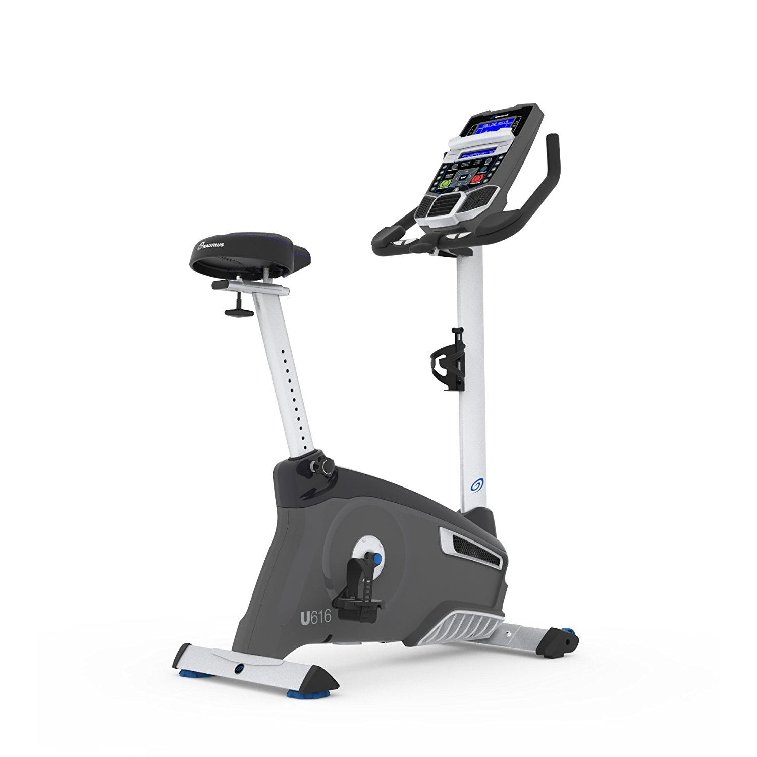 Nautilus U616 Upright Exercise Bike With Bluetooth Workout Tracking
