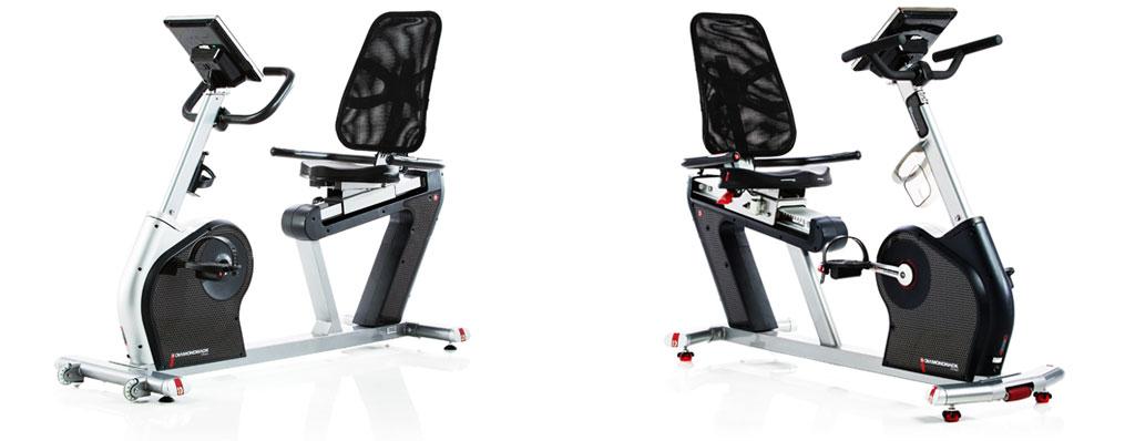Diamond Exercise Bikes - 510Sr and 910Sr Recumbent Models