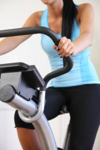 Exercise Bike Close Up