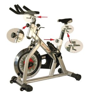 Fitnex Momentum Exercise Bike