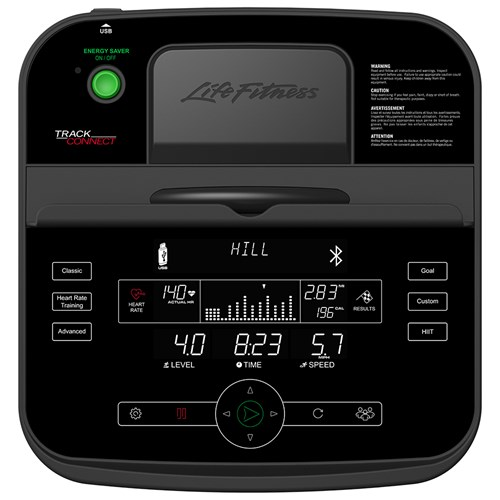 Life Fitness C1 Track Console With Bluetooth Tracking Capability