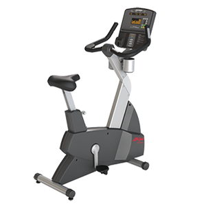 Life Fitness Club Series LifeCycle Upright Exercise Bike
