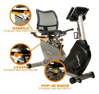 Lifecore LC1050RBs Recumbent Exercise Bike