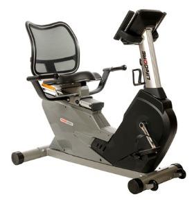 Lifecore LC950RBs Recumbent Exercise Bike