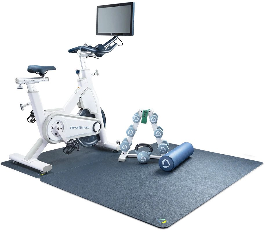 MYX Bike Reviews - Star Trac Indoor Cycle With Touch Screen Console