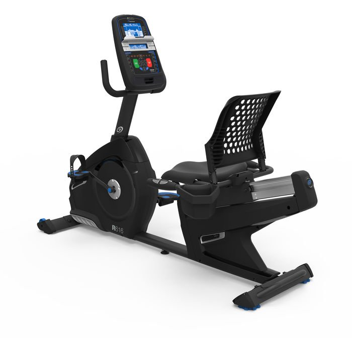 Nautilus R616 Recumbent Bike With Bluetooth and Workout Programs