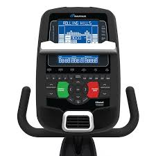 Nautilus R618 Console With Workout Tracking and 29 Built In Workout Programs