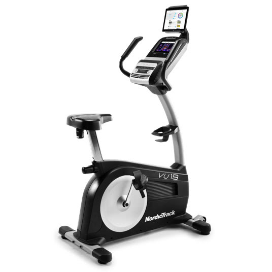 NordicTrack Commercial VU 19 Upright Exercise Bike