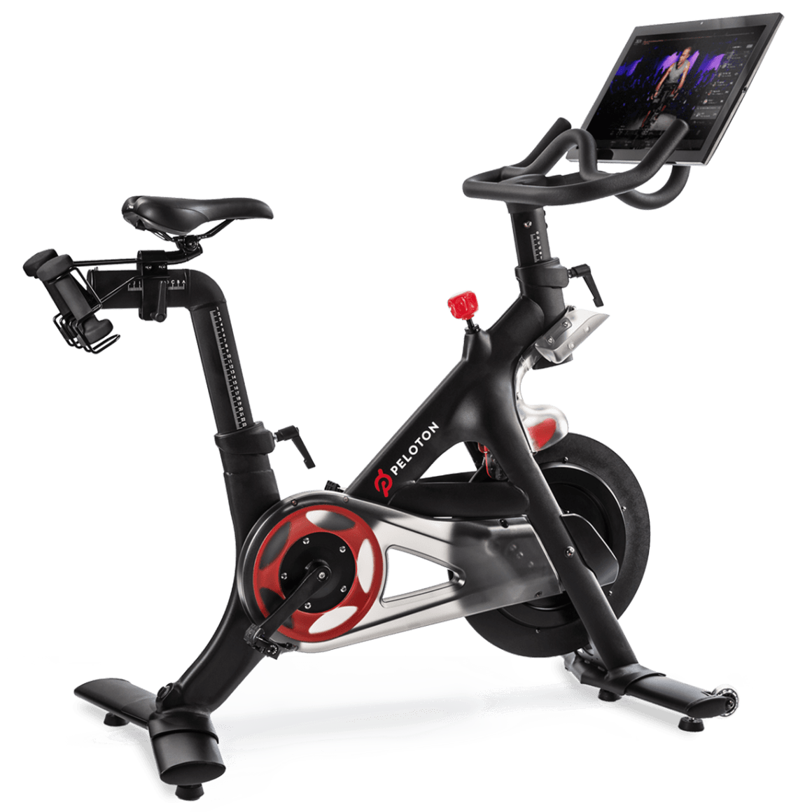 Peloton Bike With Touch Screen and Live Classes