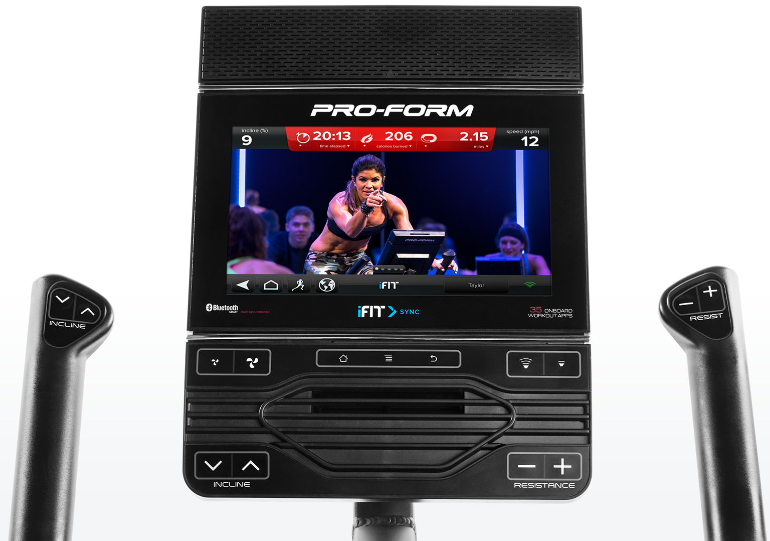 ProForm Studio Bike Pro iFit Coach Console