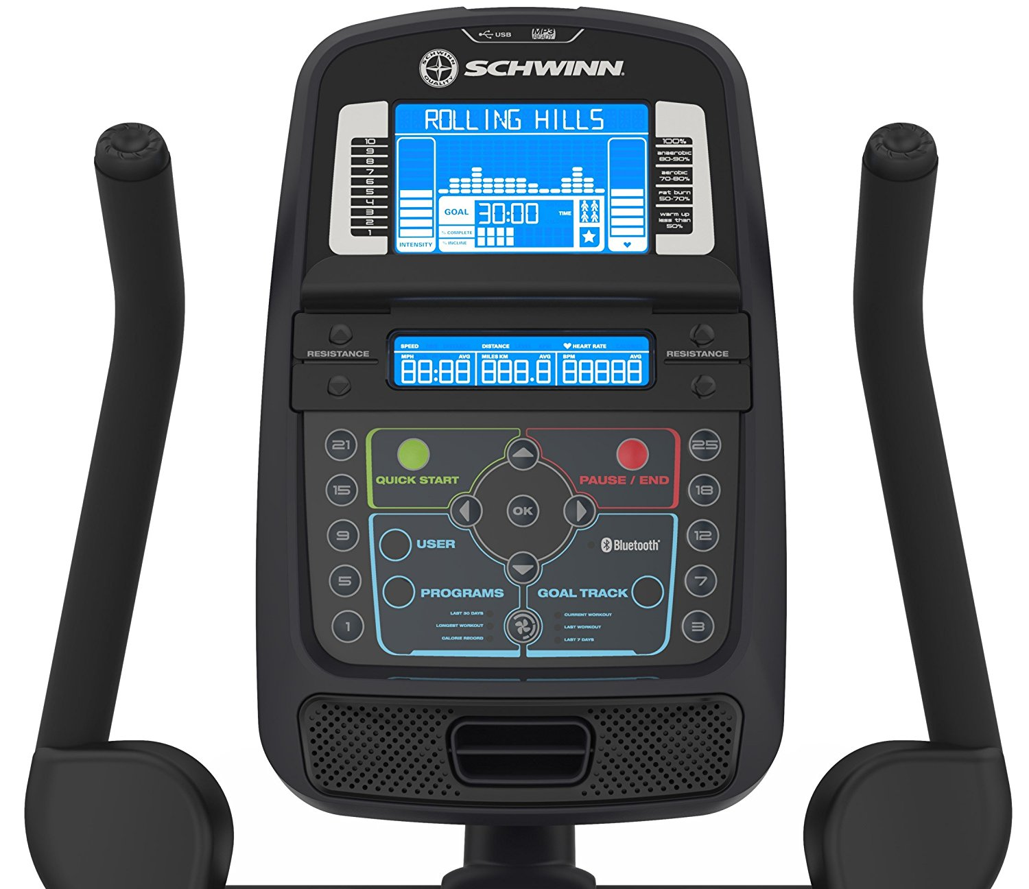 Schwinn 170 Upright Bluetooth Console