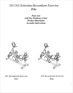 Schwinn Exercise Bike Assembly