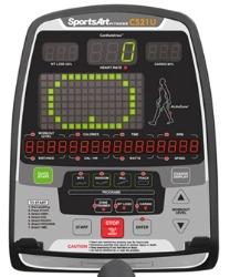 SportsArt Fitness C521u Console