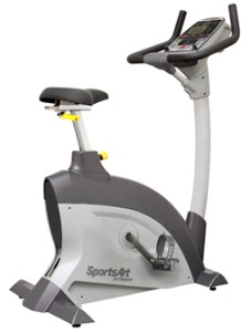 SportsArt Fitness C521u Upright Cycle