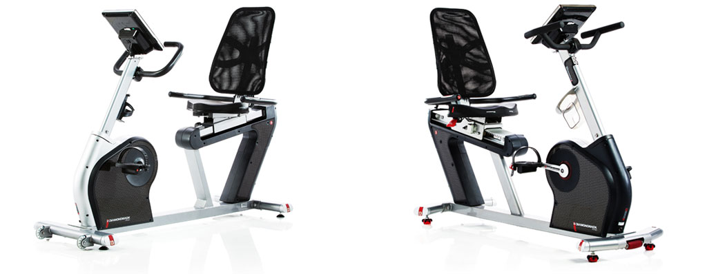 Diamond Exercise Bikes - 510Sr and 910Sr Recumbent Models