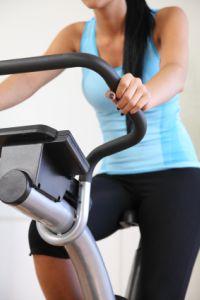 Exercise Bike Close Up