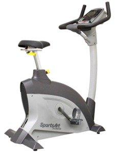 SportsArt Fitness C521u Upright Cycle